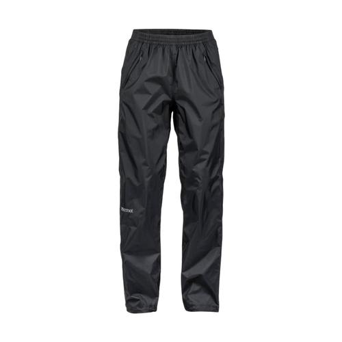Marmot Women's Precip Full Zip Pant - Reg BLACK_001