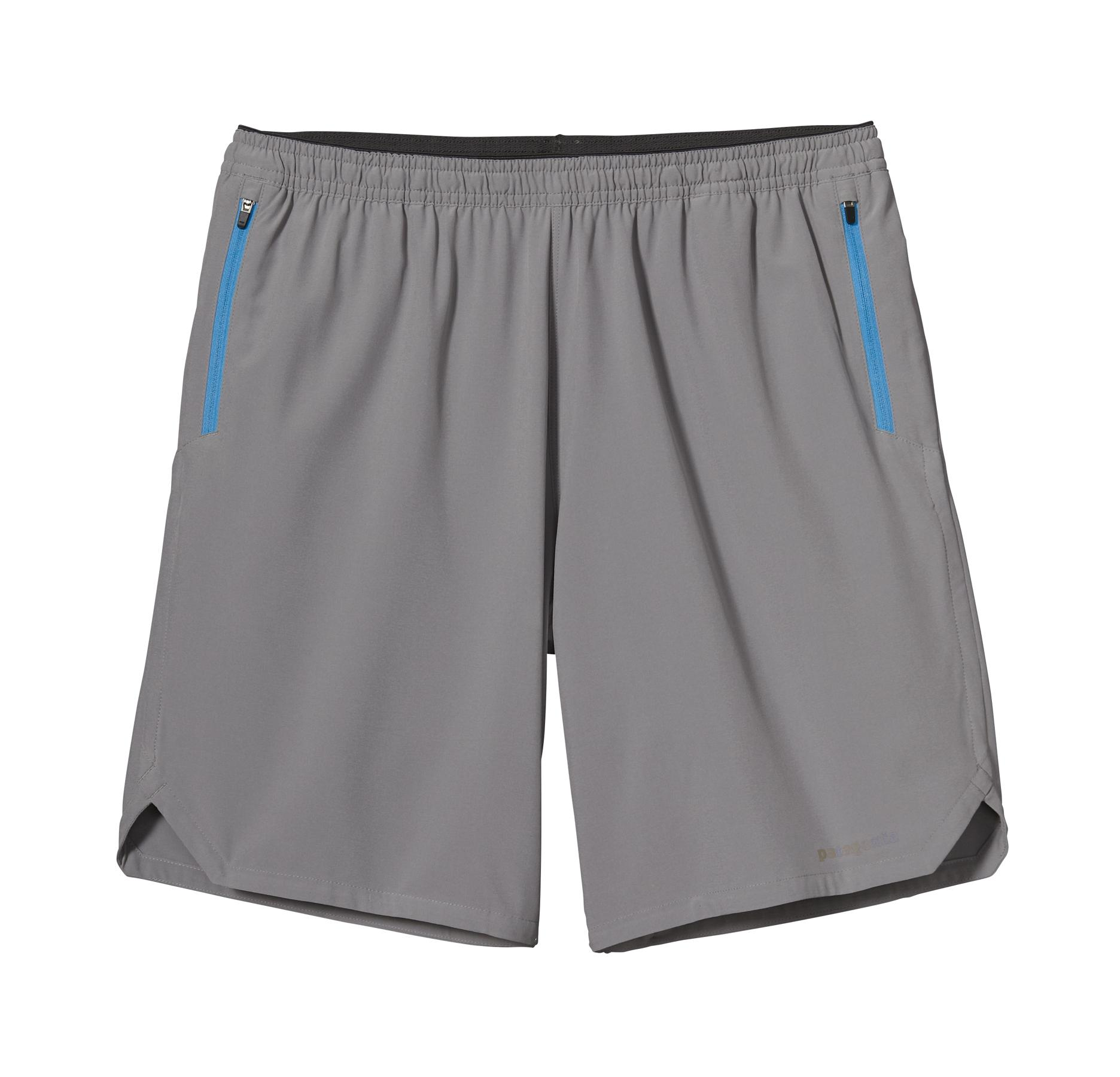 Patagonia Men's Nine Trails Shorts FEA_GREY