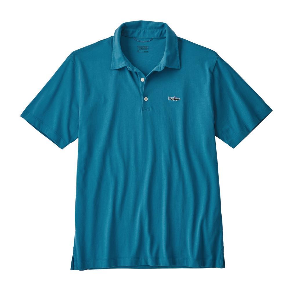 Patagonia Men's Polo Trout Fitz Roy Shirt