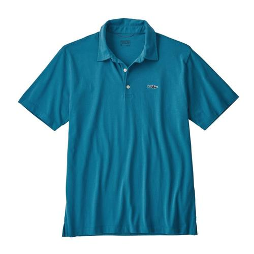 Patagonia Men's Polo- Trout Fitz Roy shirt