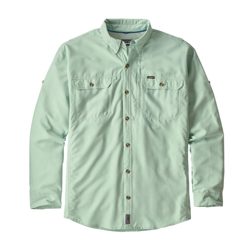 Patagonia Men's Sol Patrol L/S Shirt LDFE_GRNGRAY