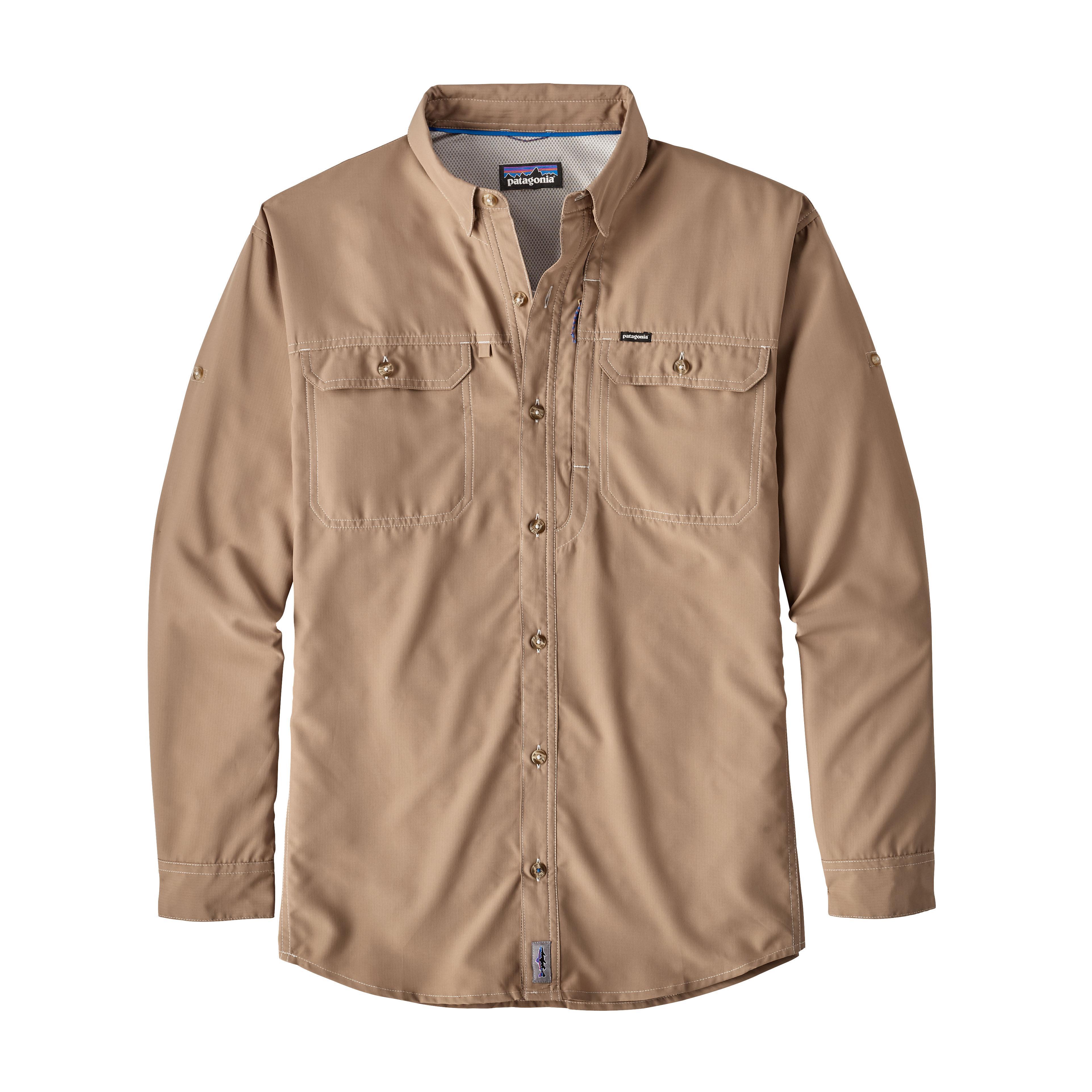 Patagonia Men's Sol Patrol L/S Shirt MJVK_KHAKI