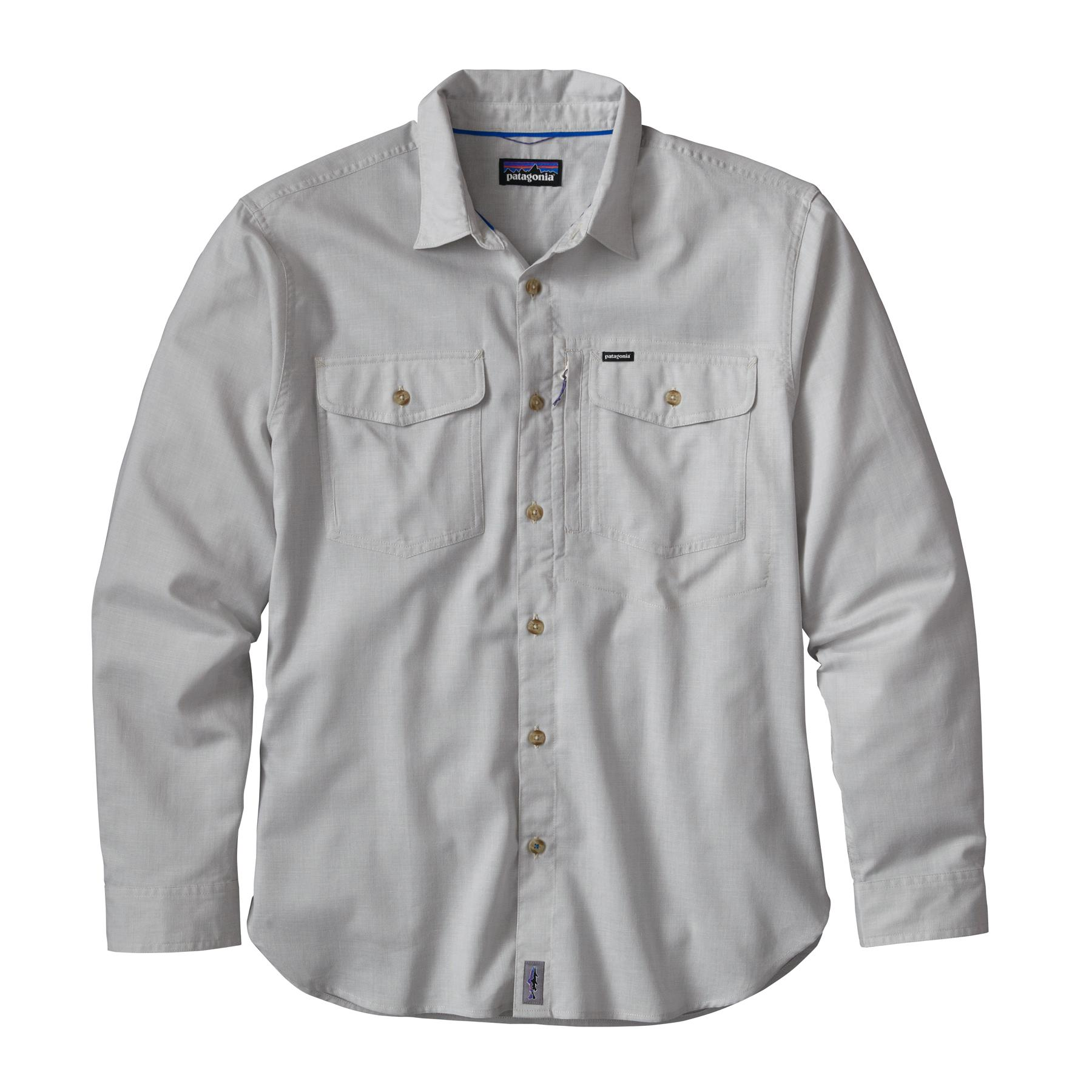 Patagonia Men's Cayo Largo L/S Shirt MRDG_GREY