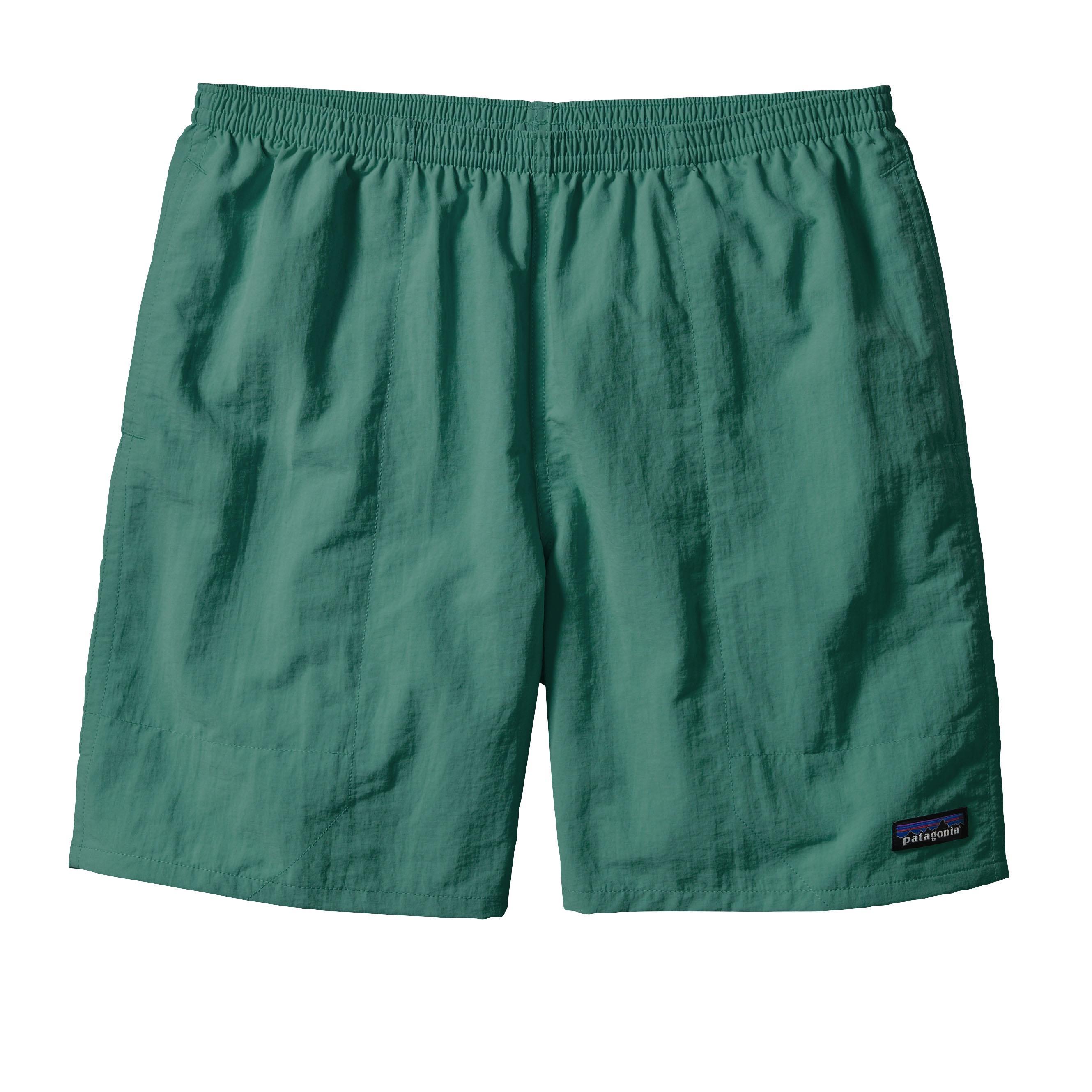 Patagonia Men's Baggies Shorts 7in Inseam GEMG_GREEN