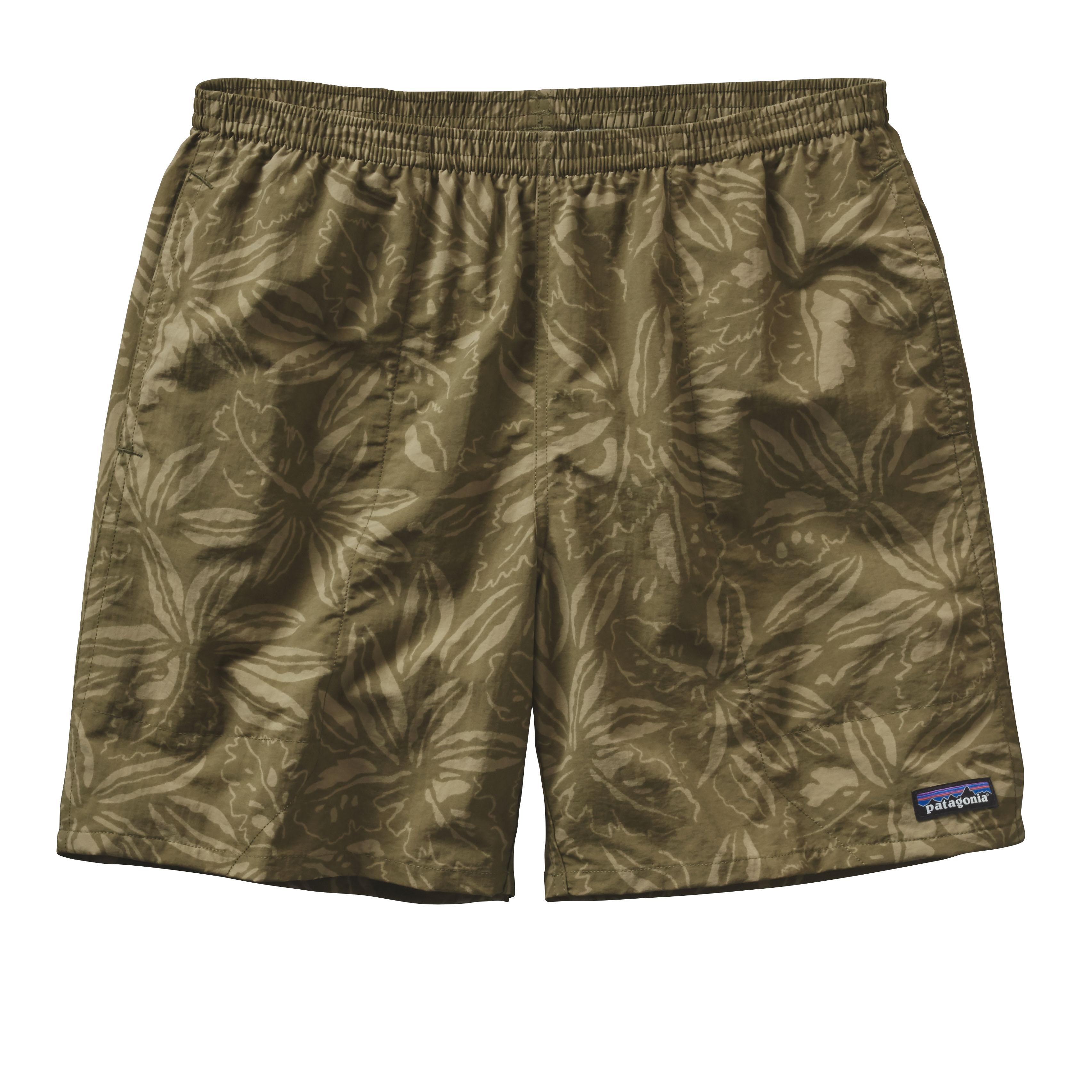 Patagonia Men's Baggies Shorts 7in Inseam TRPF_GREEN