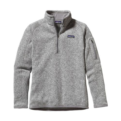 Patagonia Women's Better Sweater 1/4-Zip Fleece BCW_BIRCHWHITE