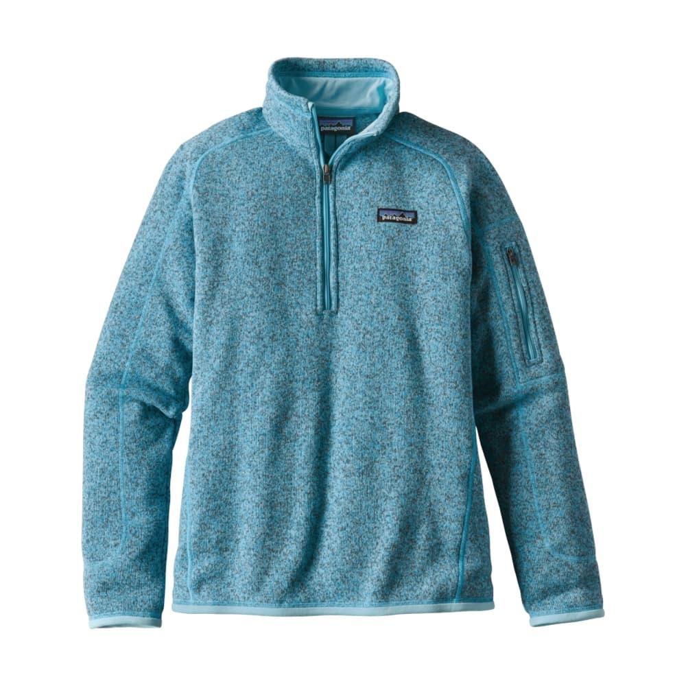 Patagonia Women's Better Sweater 1/4-Zip Fleece CUBB_BLUE