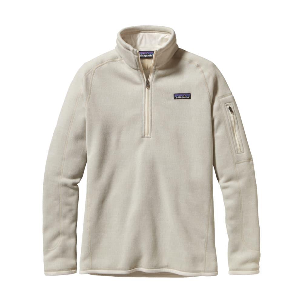 Patagonia Women's Better Sweater 1/4-Zip Fleece RWL_RAWLINEN
