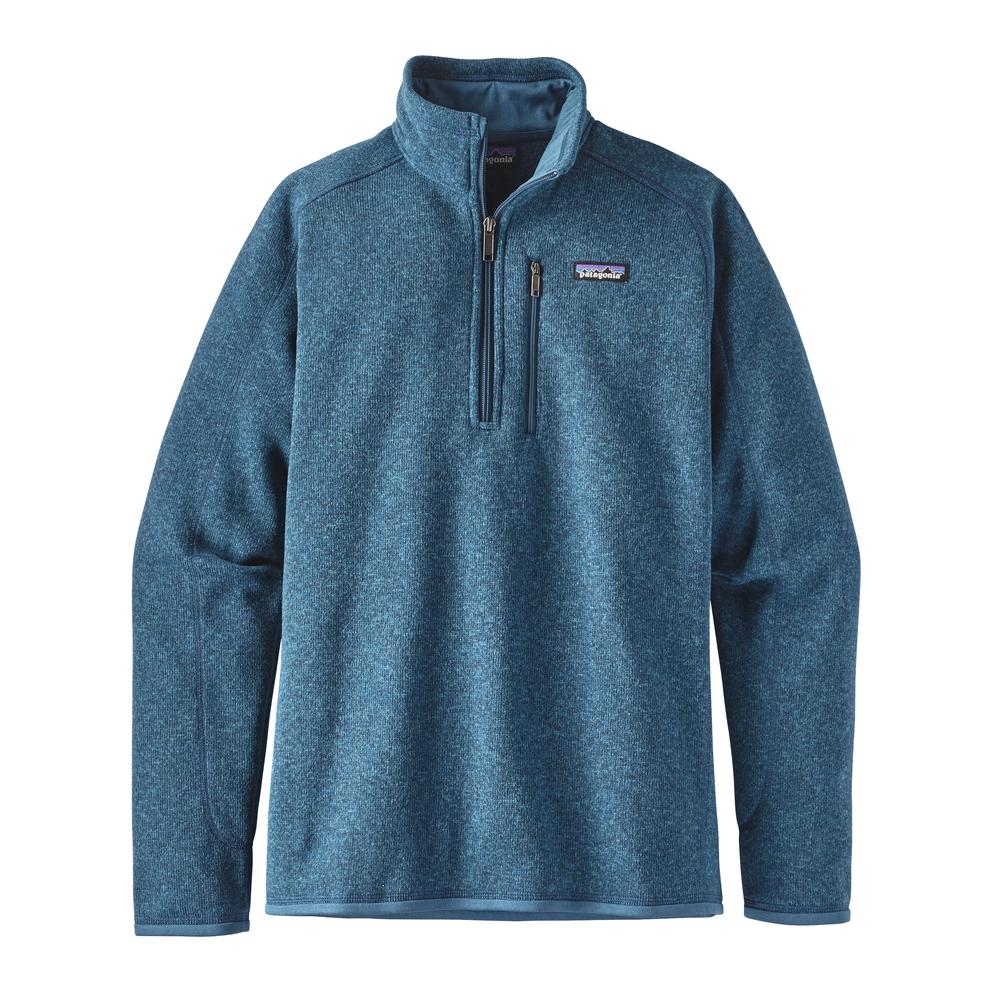 Patagonia Men's Better Sweater 1/4 Zip BSRB_BLUE