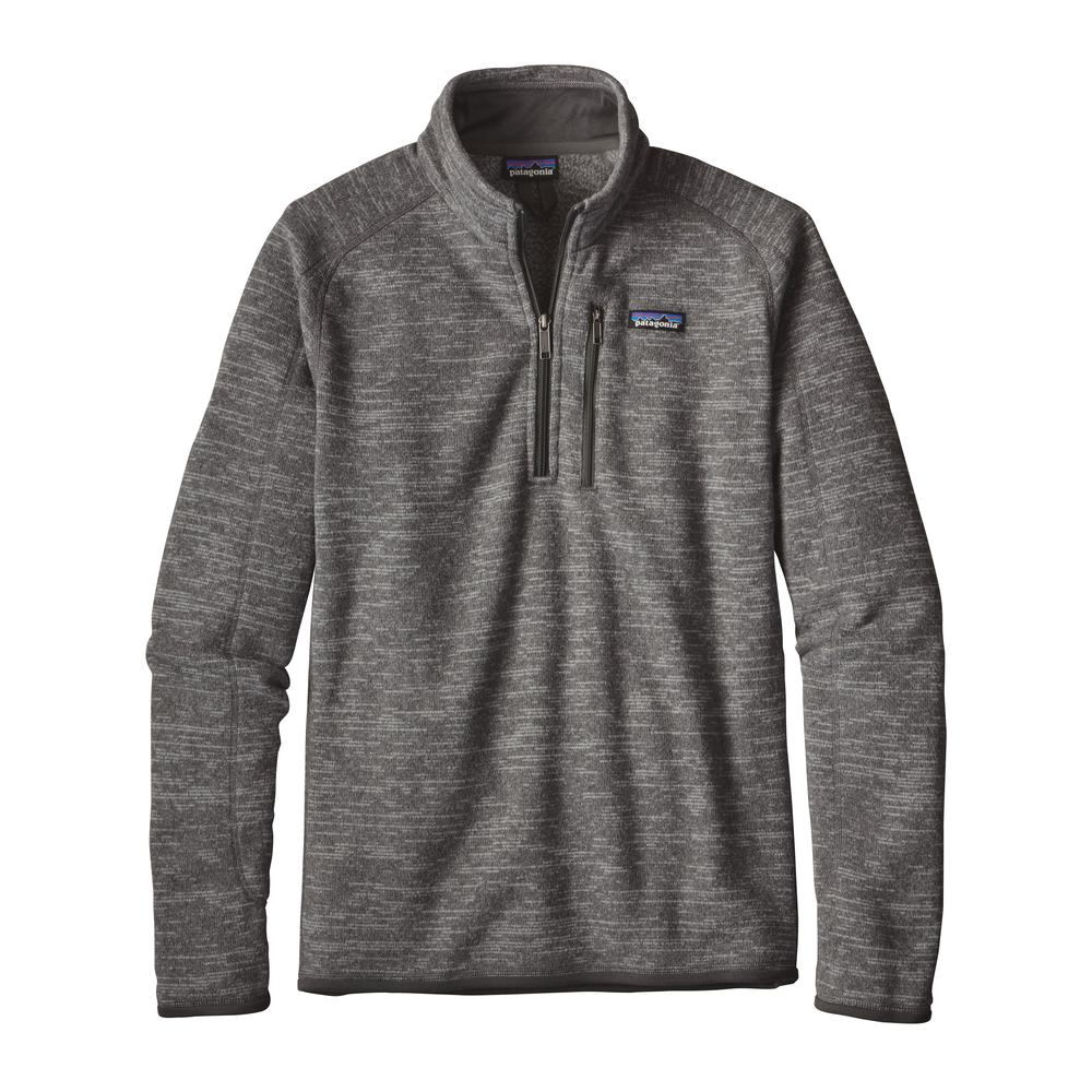 Patagonia Men's Better Sweater 1/4 Zip NKL_NICKLE