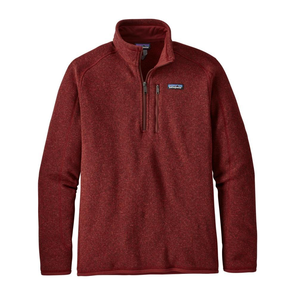 Patagonia Men's Better Sweater 1/4 Zip OXDR_RED