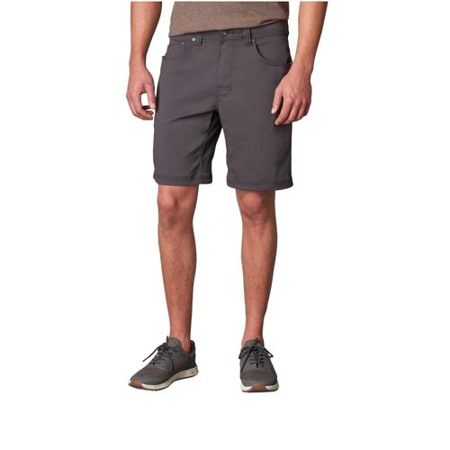 prAna Men's Brion Shorts CHARCOAL