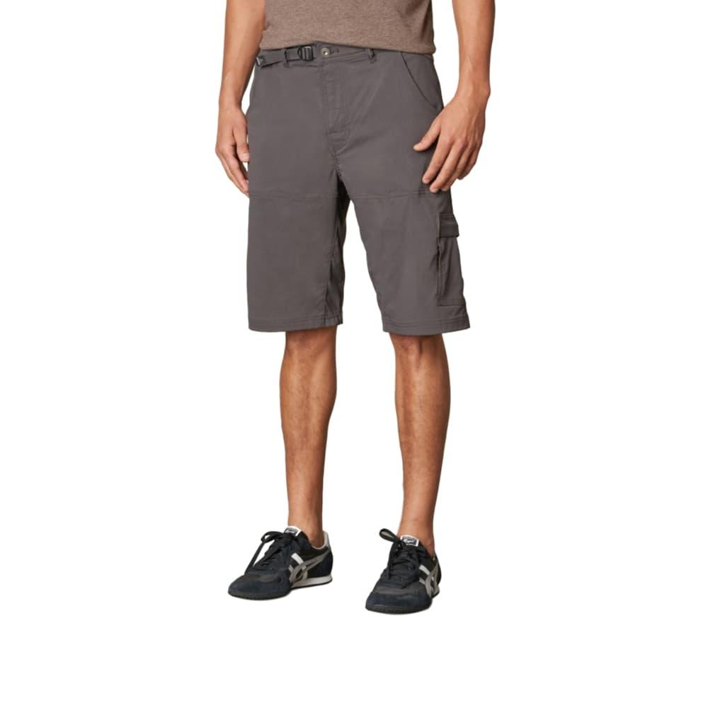 prAna Men's Stretch Zion Short - 10in Inseam CHARCOAL