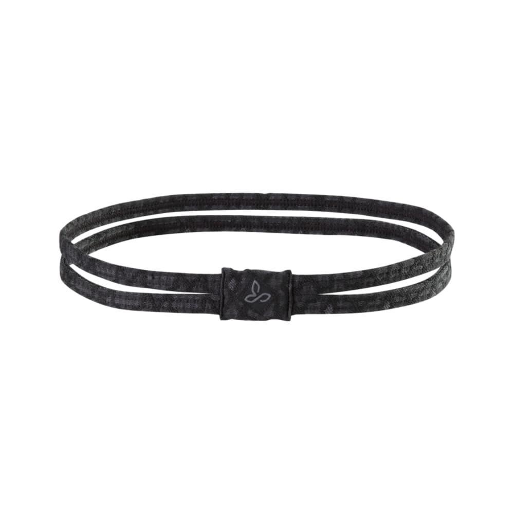 prAna Printed Double Headband BLACK_JACQ