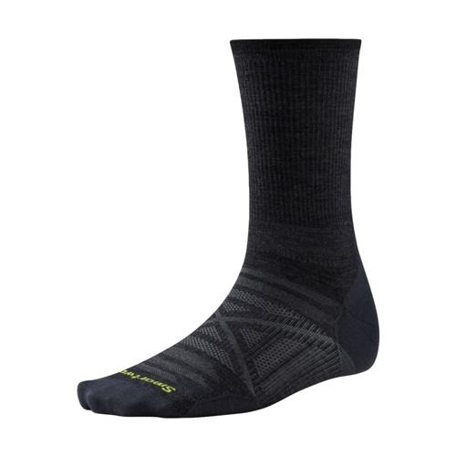 Smartwool Men's PhD Outdoor Ultra Light Crew Socks Charcoal_003