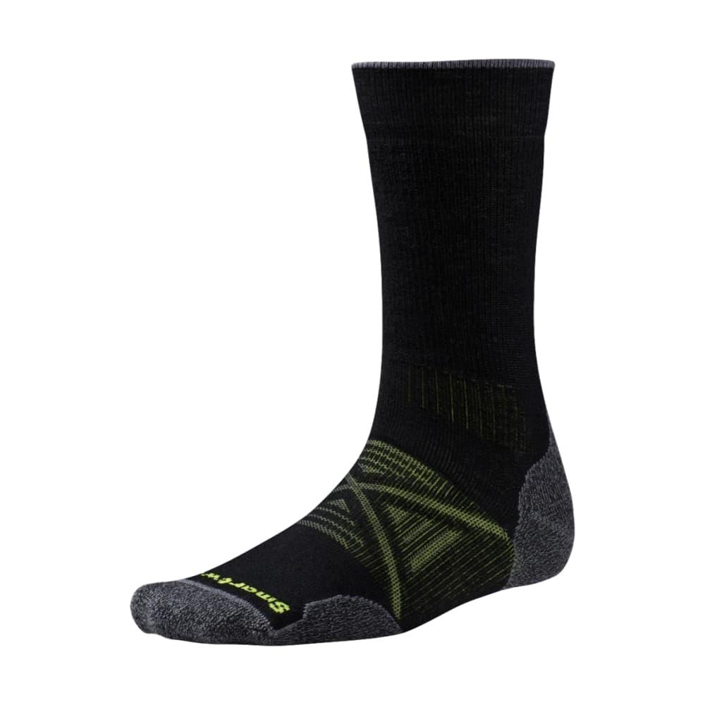Smartwool Men's PhD Outdoor Medium Crew Socks BLACK_001