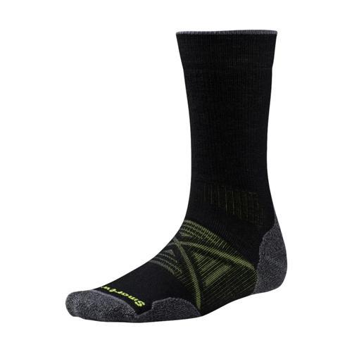 Smartwool Men's PhD Outdoor Medium Crew Socks Black_001