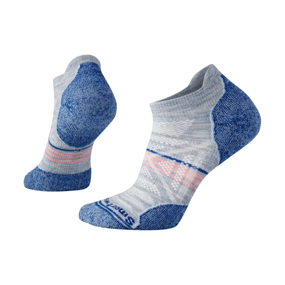Smartwool Women's PhD Outdoor Light Crew Socks BLUEICE_597