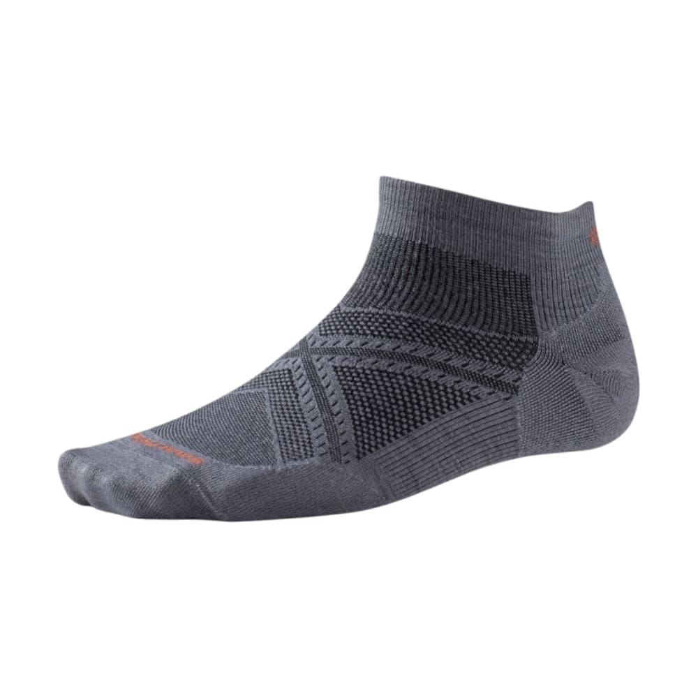 Smartwool Men's PhD Running Ultra Light Low Cut Socks GRAPHITE_018