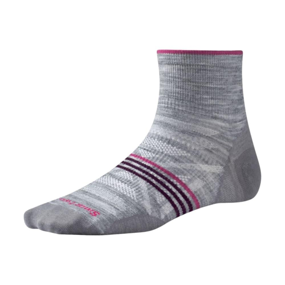 Smartwool Women's PhD Outdoor Ultra Light Mini Socks LTGRAYH_545