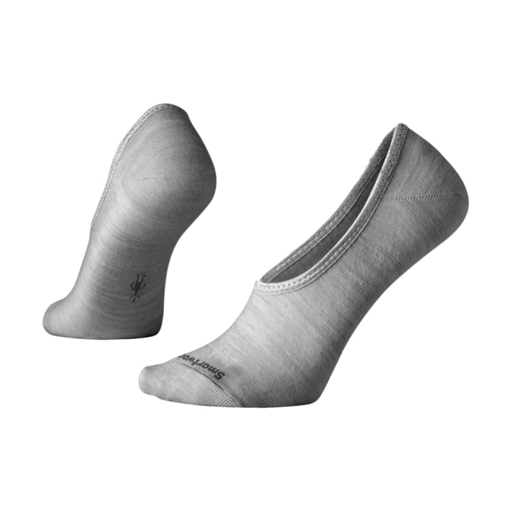 Smartwool Women's Hide and Seek No Show Socks LTGRAY_833