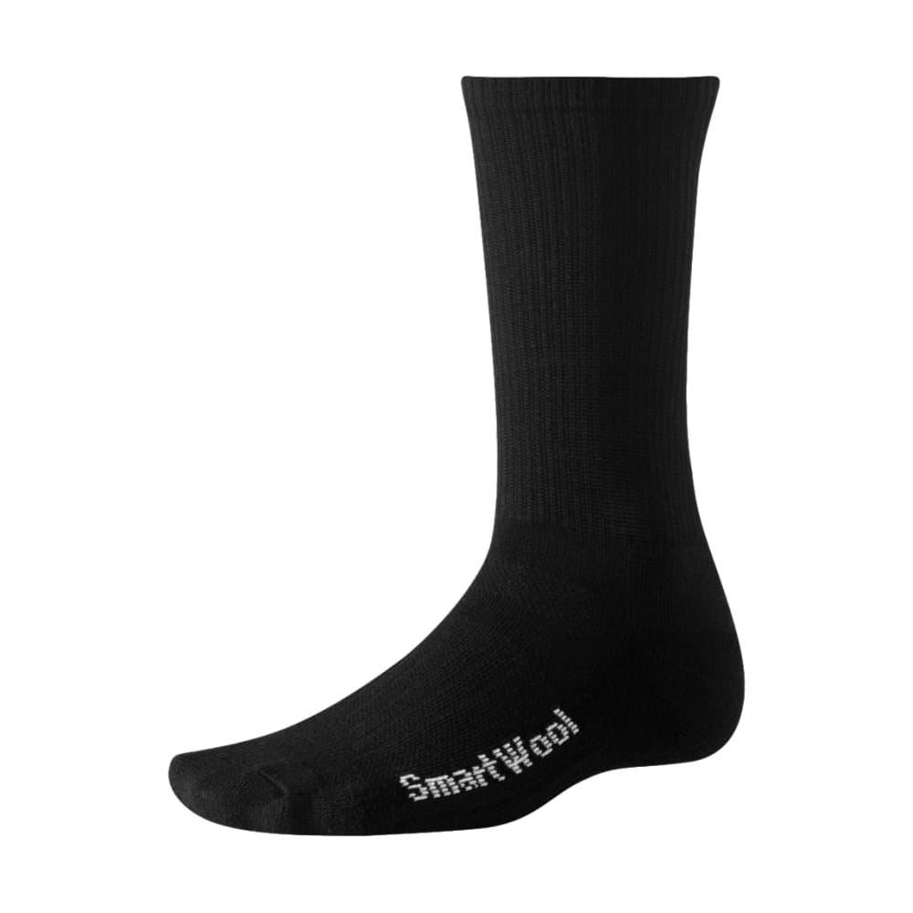 Smartwool Hiking Liner Crew Socks BLACK001