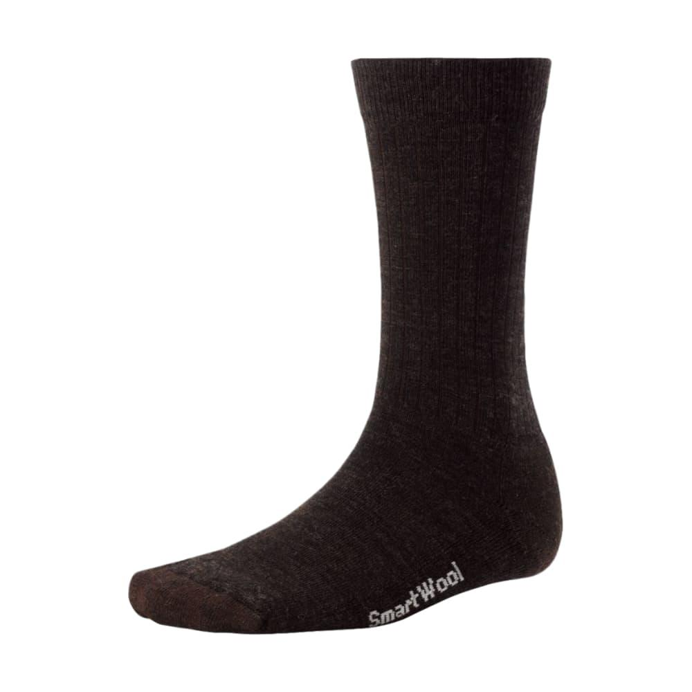 Smartwool Men's Heathered Rib Socks CHESTNUT_207