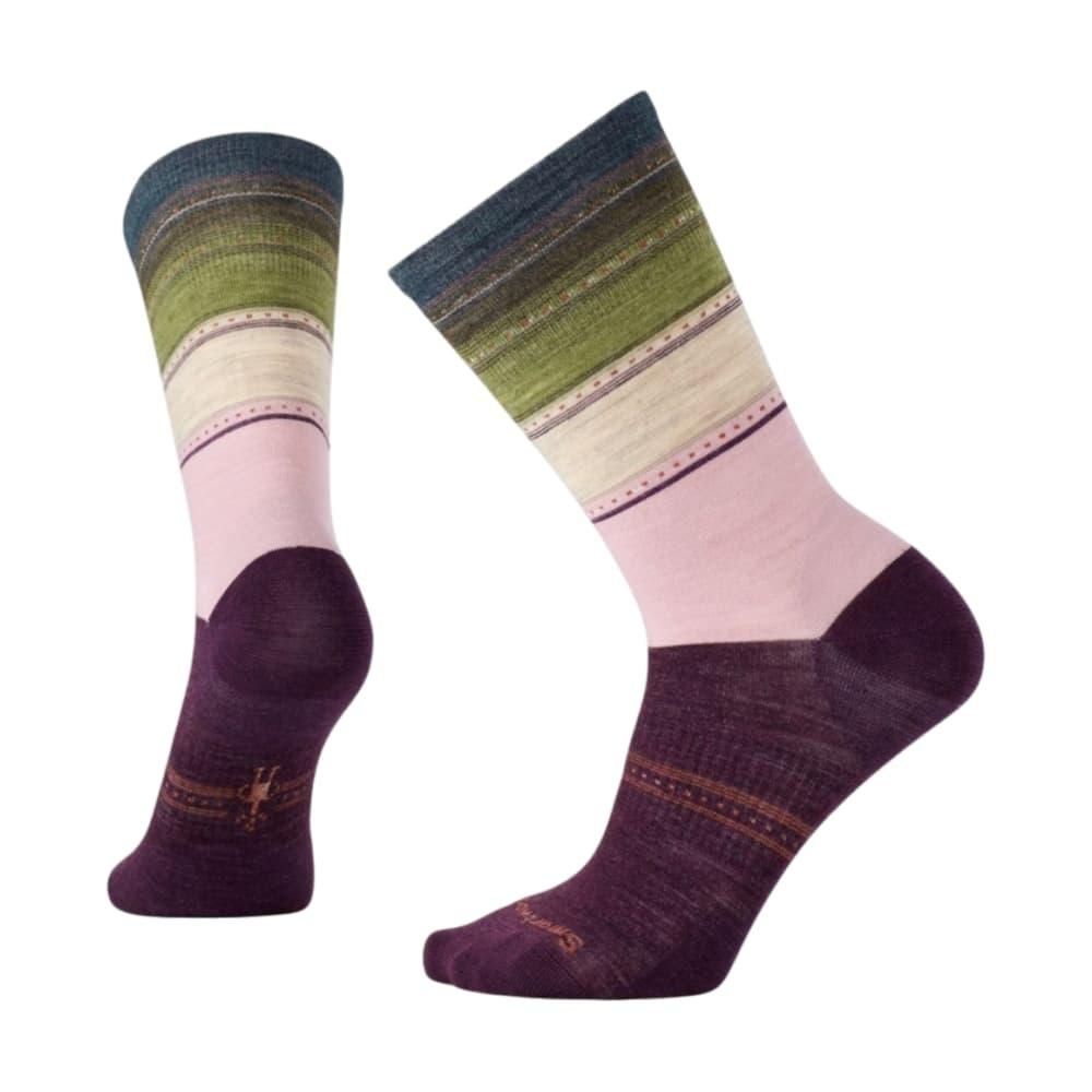 Smartwool Women's Sulawesi Stripe Socks BORDEAUX_587