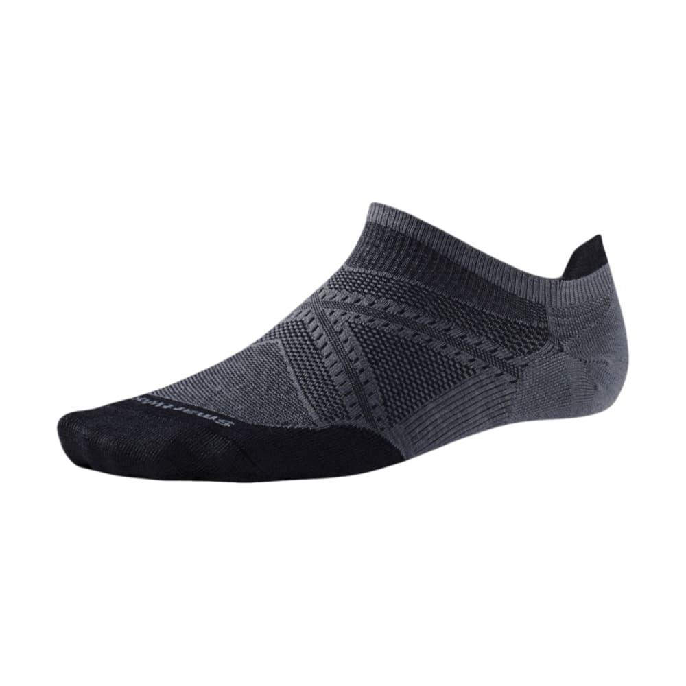 Smartwool Men's PhD Running Ultra Light Micro Socks GRAPHITE021