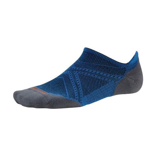 Smartwool Men's PhD Running Light Elite Micro Socks Brightblue378
