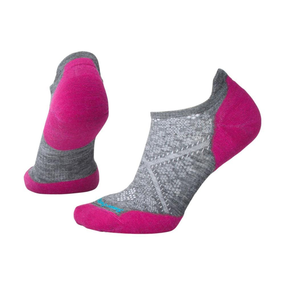 Smartwool Women's PhD Run Light Elite Micro Socks MDGREY_052