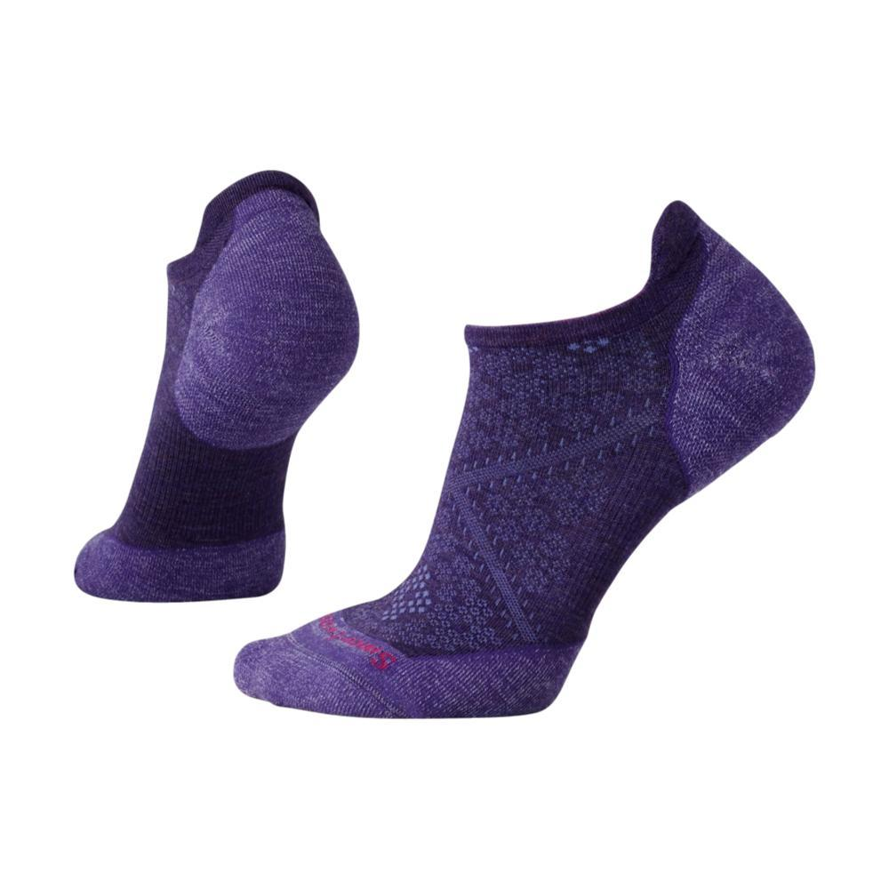 Smartwool Women's PhD Running Light Elite Micro Socks MTNPURPL_591