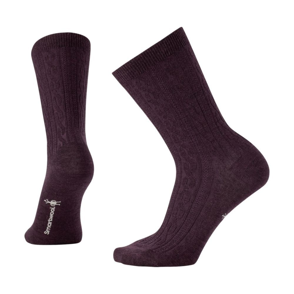 Smartwool Women's Cable II Socks BORDEAUX_587