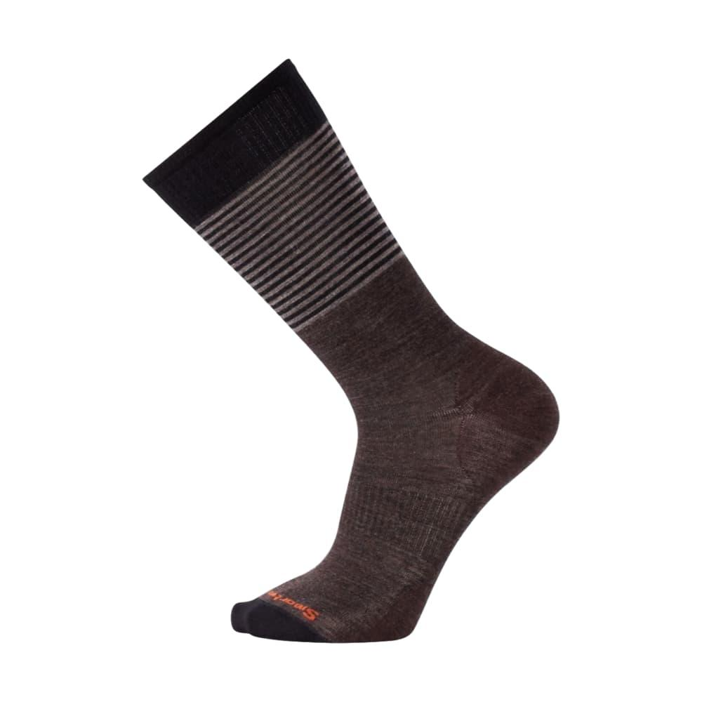 Smartwool Men's Tailored Stripe Crew Socks CHESTNUT_178