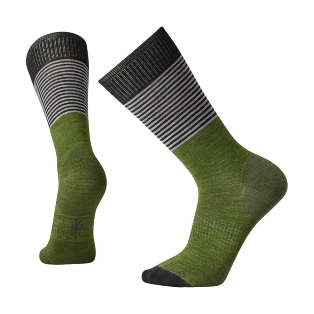 Smartwool Men's Tailored Stripe Crew Socks LTLODEN_197