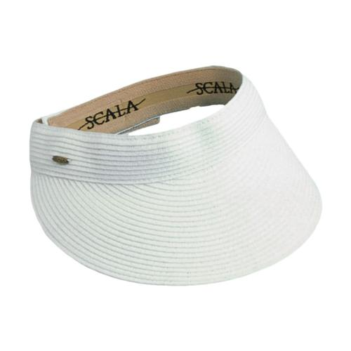 Dorfman Pacific Women's Paper Braid Visor