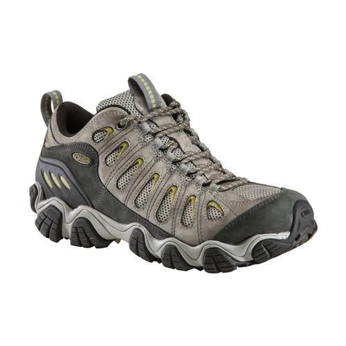 Oboz Men's Sawtooth Low Hiking Shoes Pewter