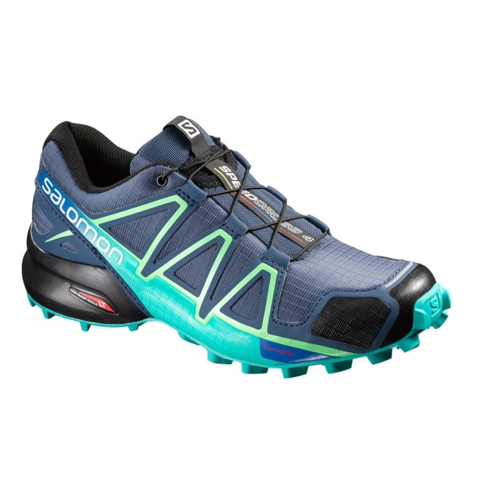 2b68c199376d Selected Color Salomon Women s Speedcross 4 Trail Running Shoes SLATEBLUE