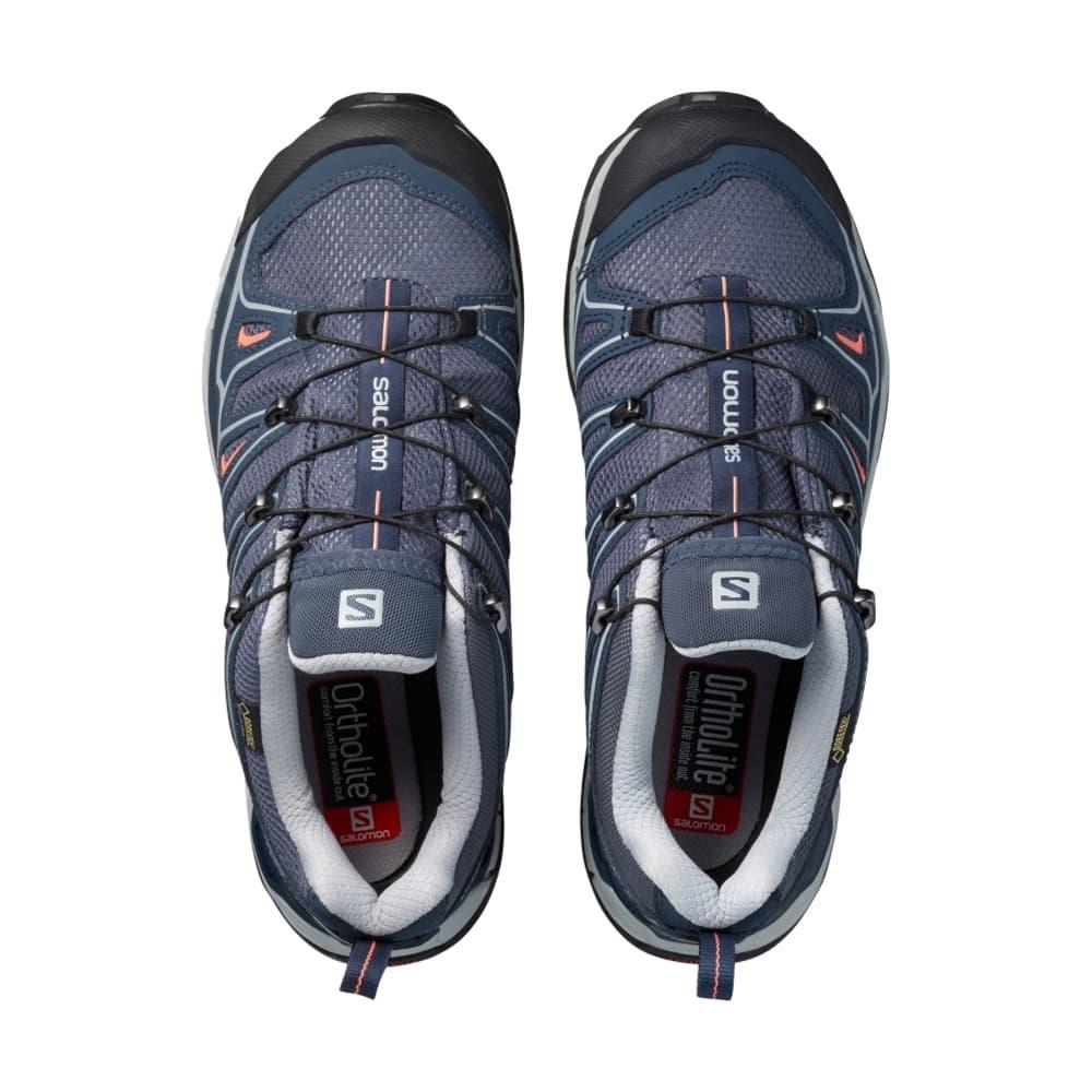 Salomon Women's X Ultra 2 GTX Shoes GREYMELON