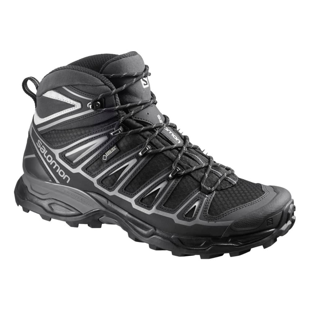Salomon Men's X Ultra Mid 2 GTX Waterproof Hiking Boots BLACK
