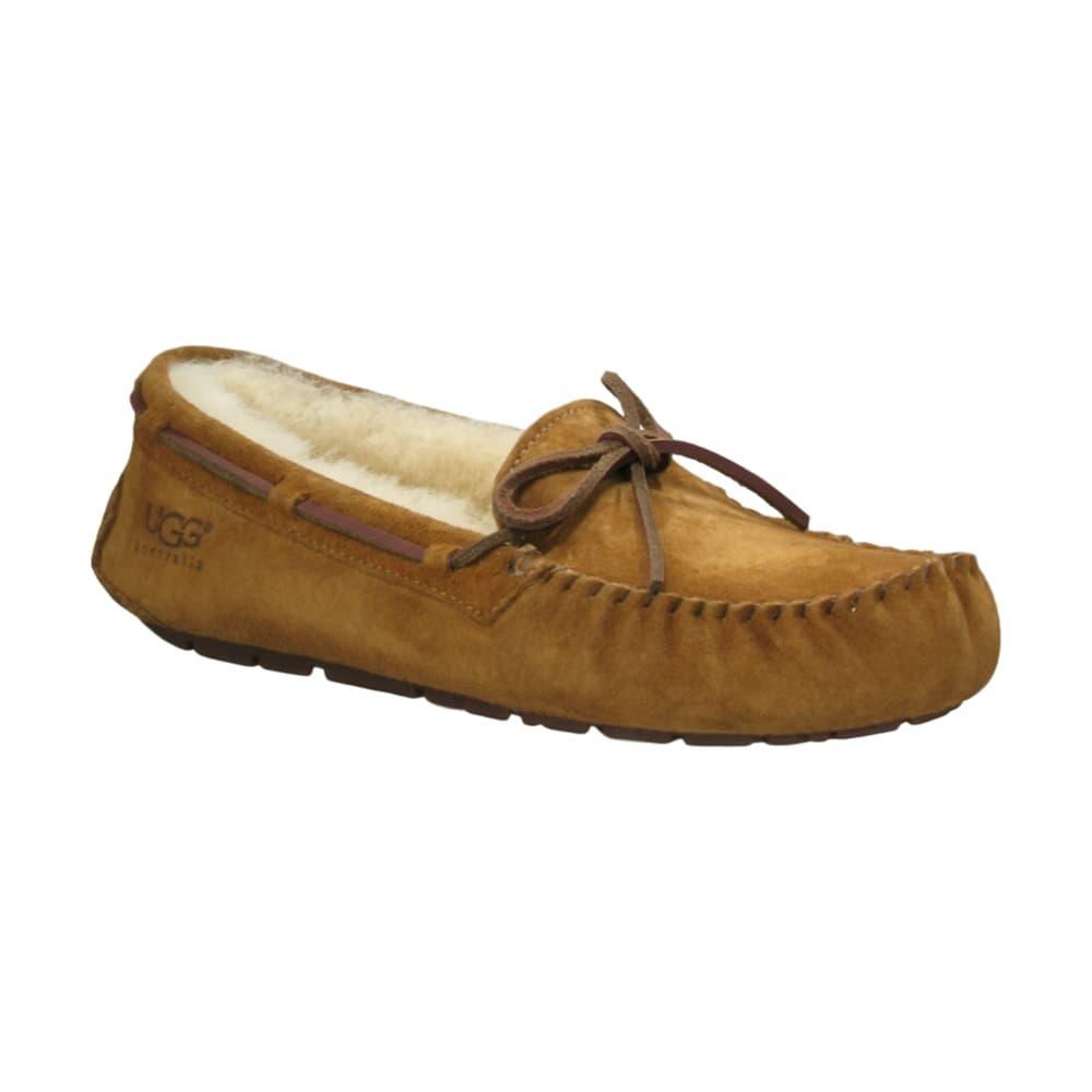 c3bf49ed827 Selected Color UGG Australia Women s Dakota Slippers CHESTNUT