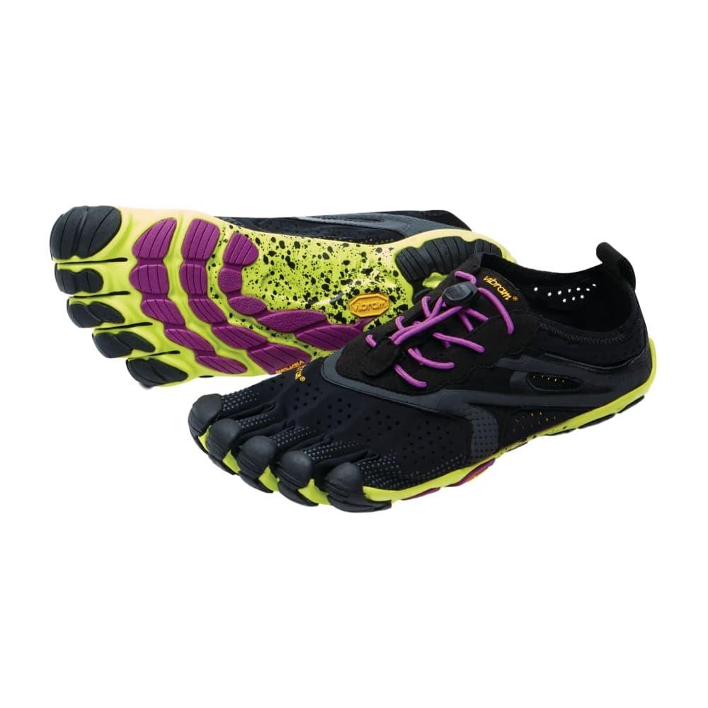 Vibram Five Fingers Women's V-RUN Shoes BLKPURPLE