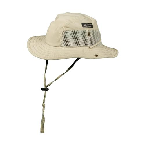 Dorfman Pacific Men's Supplex Camp Hat KHAKI