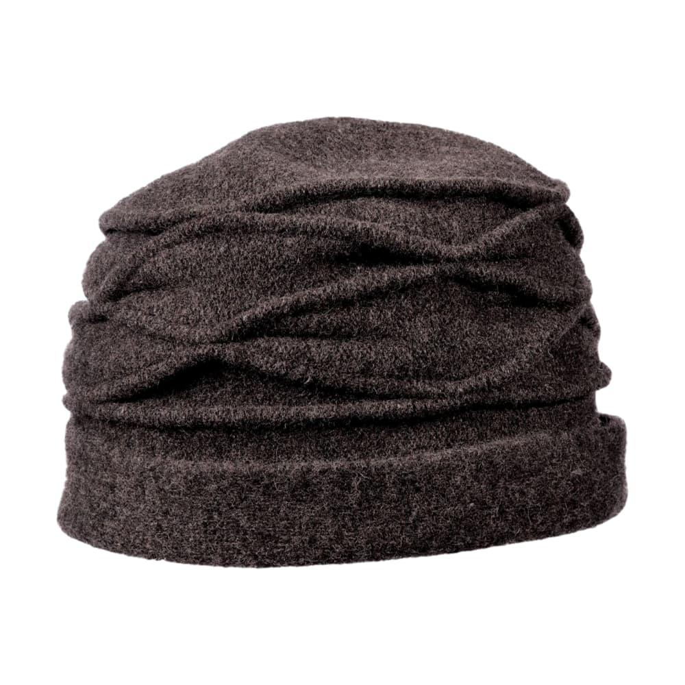 Dorfman Pacific Women's Cloche Boiled Wool Hat