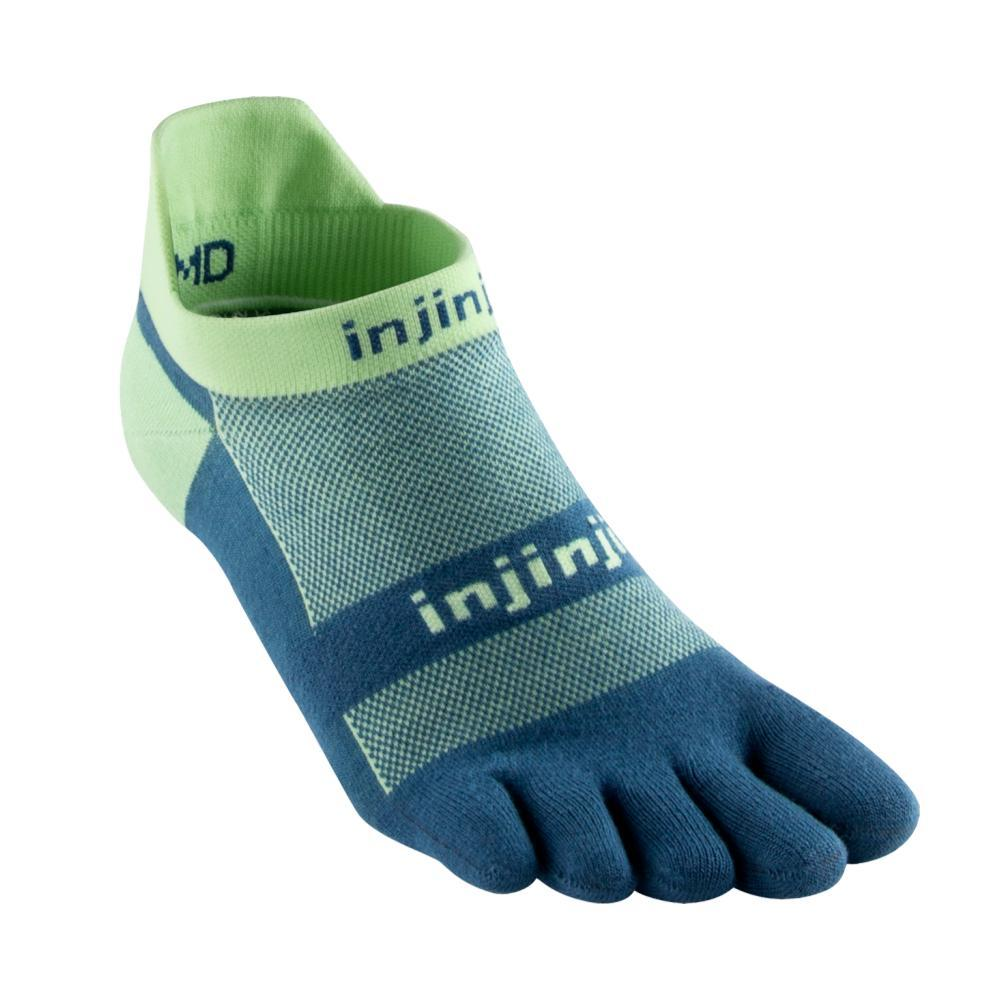 Injinji Unisex Run Lightweight No-Show Socks SEAFOAM