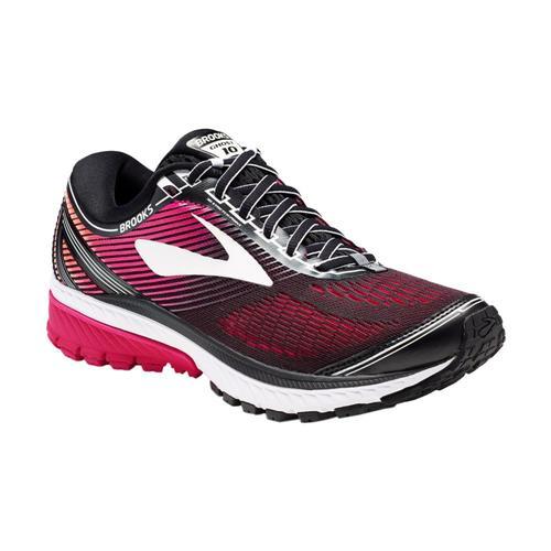 Brooks Women's Ghost 10 Running Shoes Blkpink
