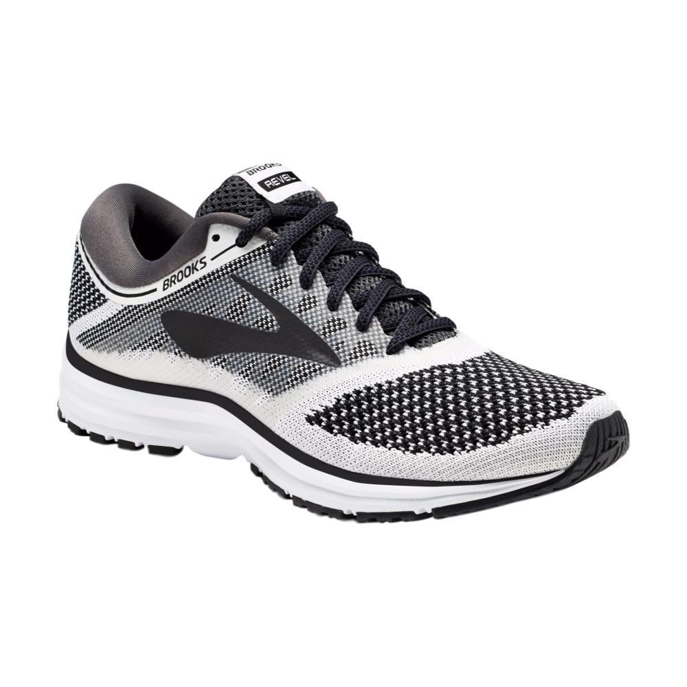 Brooks Women's Revel Running Shoes WHTBLK
