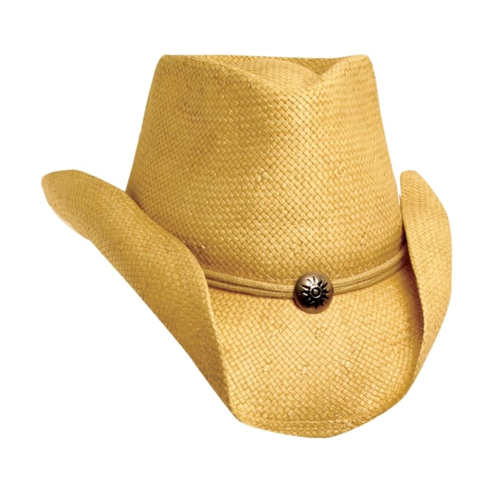 Scala Soft Toyo Western Concho Hat MUD