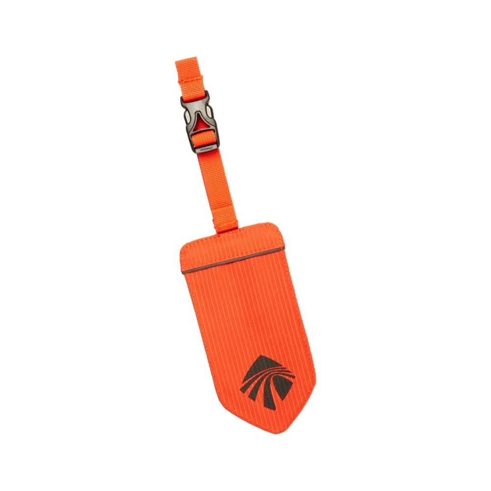 Eagle Creek Reflective Luggage Tag FLAME_ORNG