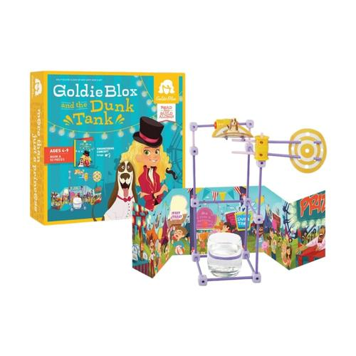 GoldieBlox and the Dunk Tank